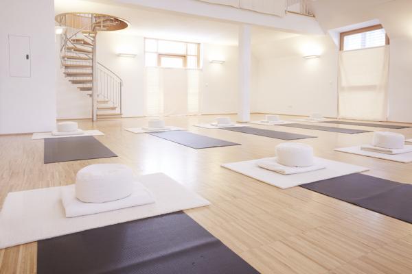 Das Leben im Meditationssaal Haus Tabor